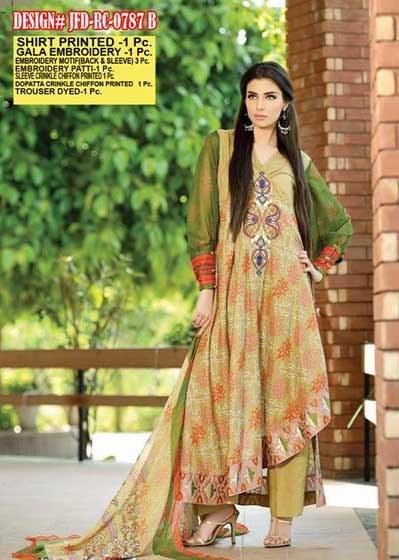 Jubilee For Women Summer Collection 2013 Cloth Mills