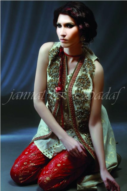 Latest Summer Arrivals Dresses 2013 For Women By Jannat and Sadaf