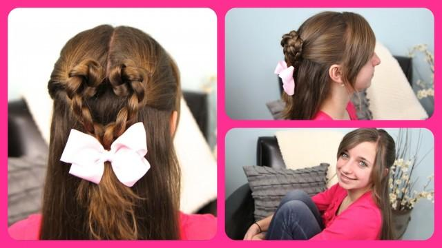 Romantic Hairstyle Valentine's Day 2013 For Girls