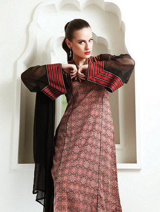 Latest Women wear Warda Lawn dress new collection 2013 Vol 2