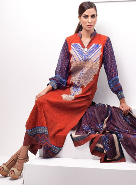 Libas Exclusive Embroidery Collection 2013 by Shariq Textiles For Women 002