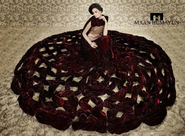 Dresses Bridal Wedding Stylish Collection For Women By Maan