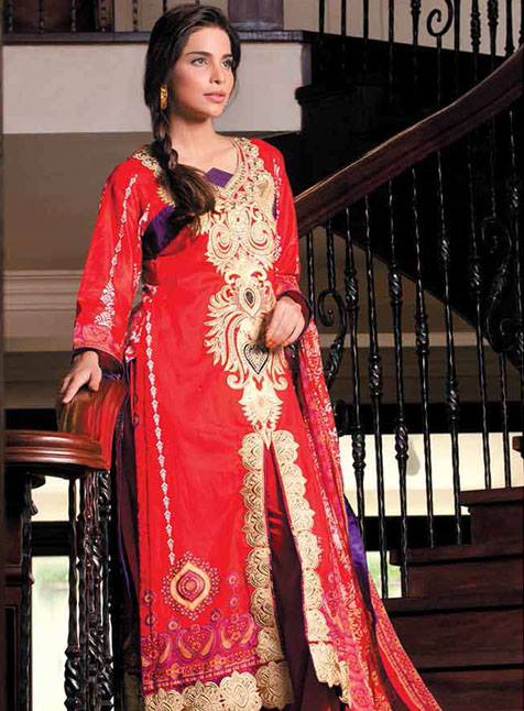 Monsoon Festivana 2013 by Al Zohaib Textile For Women 001