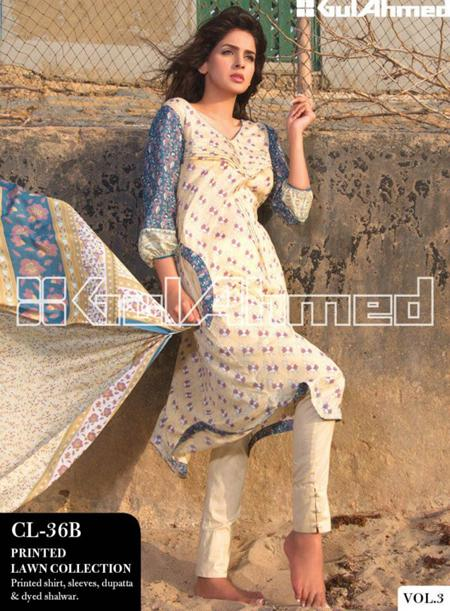 Original Gul Ahmad Lawn Collection 2013 Vol-3 For Women 003