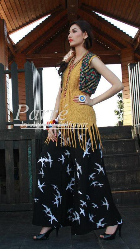 Parre by Arooba Zulfiqar Spring Summer Dress Collection 2013 For Women 09