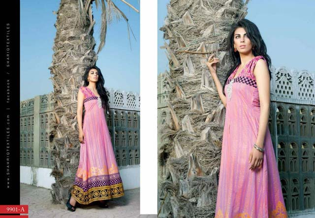Collection 2013 Lawn Dresses Riwaj by Shariq Textile