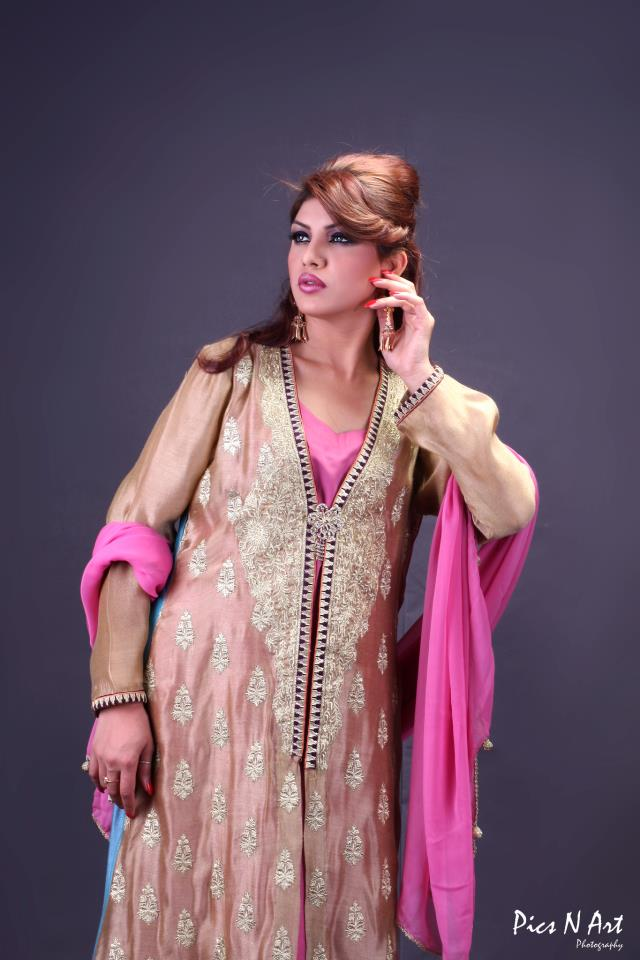 Spring Summer Party Wear Dresses 2013 By Ambreen Azhar (1)