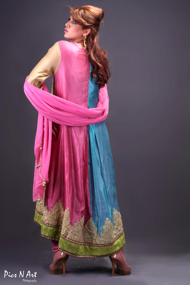 Spring Summer Party Wear collection 2013 By Ambreen Azhar (4)