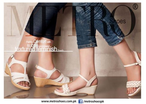 Textured Metro shoes 2013 for ladies