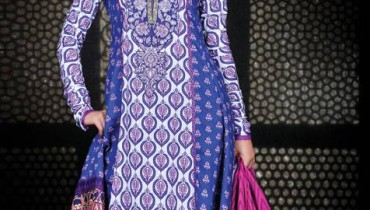 Umar Sayeed Lawn Collection 2013 by Al Karam For Women 001