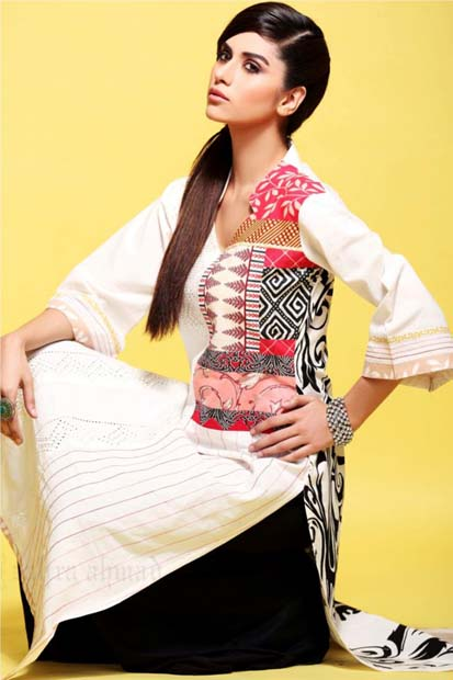 Zahra Ahmad Latest Summer Collection 2013 for girls Women 06