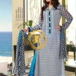 Zam Zam Chiffon Lawn Collection 2013 Vol 2 For Women 004