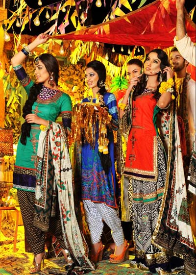 Latest Mehndi Shoot by Khawar Riaz 2013