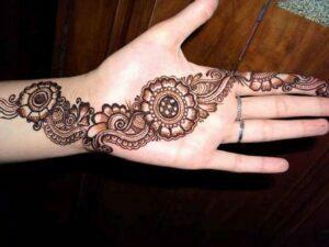 Eid Hand Mehndi Designs 2012 For Girls