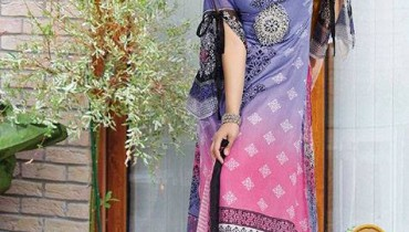 Aalishan Chiffon Lawn Collection 2013 by Dawood Textiles For Women 001