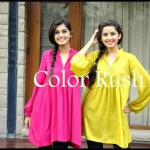 Color Rush Casual Wear Dresses 2013 for Women & Girls 003