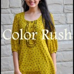 Color Rush Casual Wear Dresses 2013 for Women & Girls 004