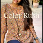 Color Rush Casual Wear Dresses 2013 for Women & Girls 008