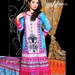 Dawood Gold Lawn Collection 2012 By Dawood Textiles (4)