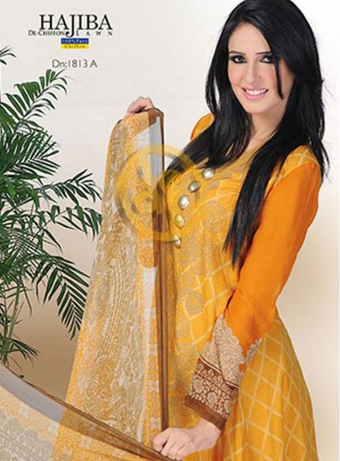 Dawood Hajiba De Chiffon Vol 2 Collection 2013 For Women 003