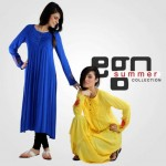 Ego Summer Fashion 2013 For Girls Long Shirts With Tights Collection (1)
