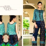 Hannah Lawn Embroidered Eid Collection 2013 By ZS Textile (2)