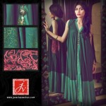 Javeria Zeeshan Women Wear Dresses Lawn Prints 2013 (1)