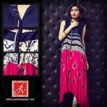 Javeria Zeeshan Women Wear Dresses Lawn Prints 2013 (4)