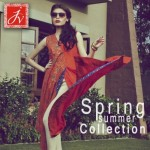 Javeria Zeeshan Women Wear Dresses Lawn Prints 2013 (5)