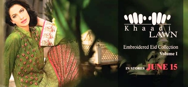Khaadi Embroidered Eid Collection 2013 Volume 1 001