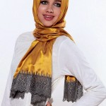 Latest Arabic Scarf New Collection 2013-14 For Ladies (4)