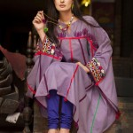 Latest Eid Dress Collection Casual Wear 2013 By Pankheri (2)