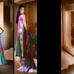 Latest Eid Lawn Collection 2013 for Women & Girls by Ittehad Textiles 001