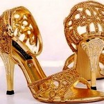 Latest Pakistani Bridal Shoes Collection (5)
