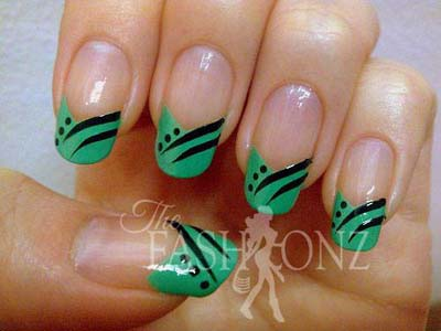 Nail Art Designs 2013 For Girls 002