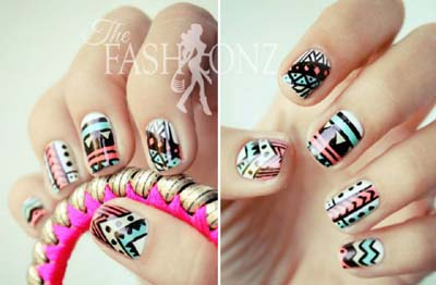 Nail Art Designs 2013 For Girls 006