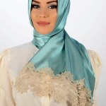 New Arabic Scarf New Collection 2013-14 For Ladies (1) 1