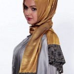 New Arabic Scarf Trend Collection 2013-14 Foe Women And Girls (2)