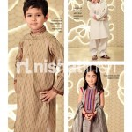 Nishat Linen Kids Eid Collection 2013 For Women 002