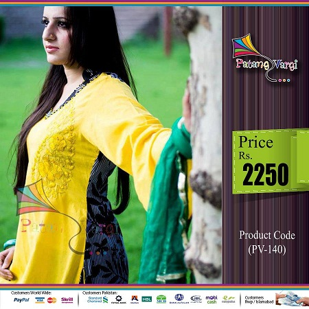 Patang Vargi Dresses Collection 2013 For Summer 09