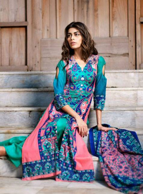 Riwaj Collection Vol 3 For Women 2013 By Shariq Textile 006