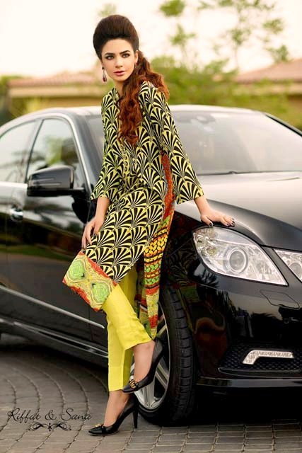 Eid Collection Sana Salman 2013 For Girls & Women