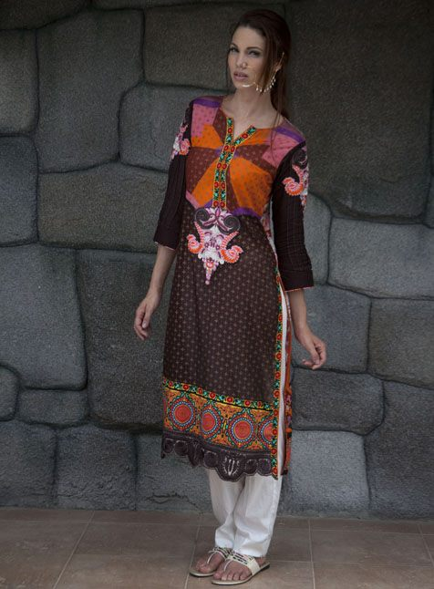 Sticherry Embroidery Collection 2013 by LSM Fabrics For Women 002