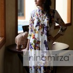 Stylish Eid Summer Dress Collection 2013 For Women By Hina Mirza (5)