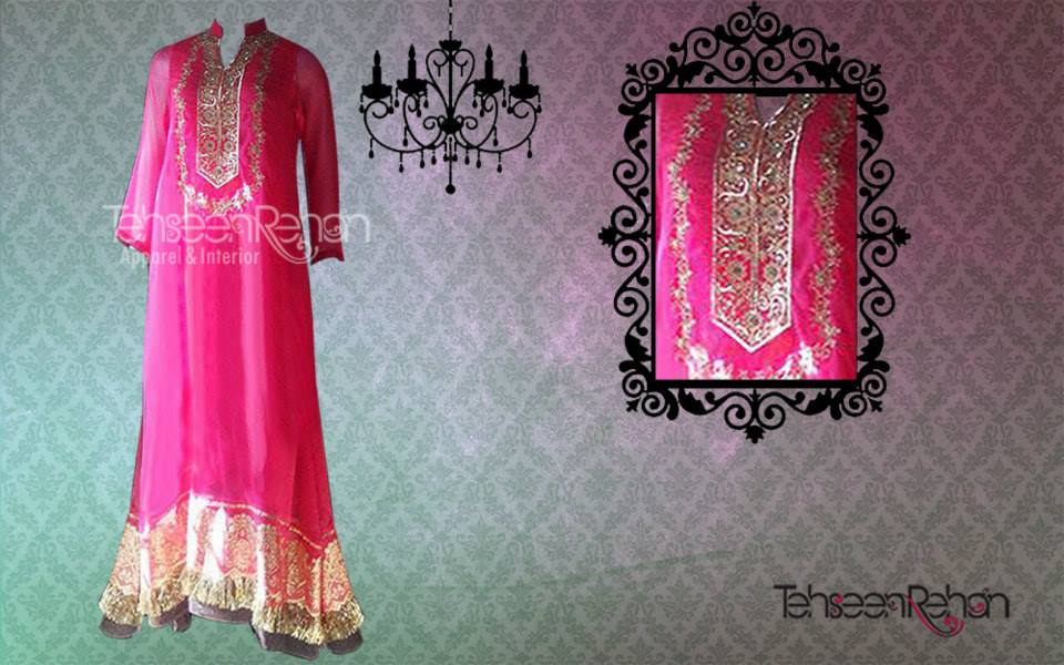 Tehseen Rehan Couture Formal Wear Collection 2013 For Women 006