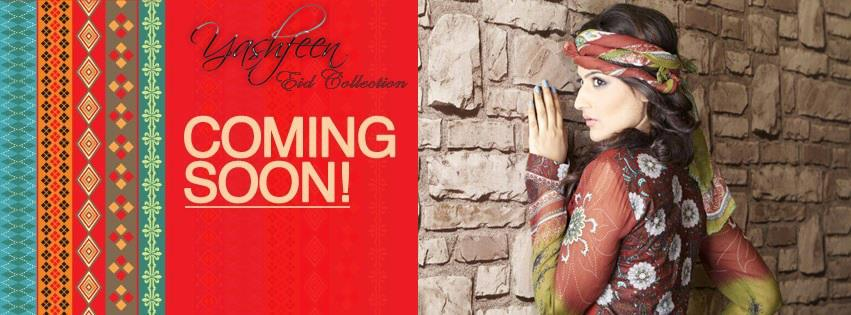 Yashfeen Lawn Eid Collection Summer 2013 For Girls 006
