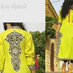 Zahra Ahmad Casual Wear Dresses Collection 2013 For Summer 004