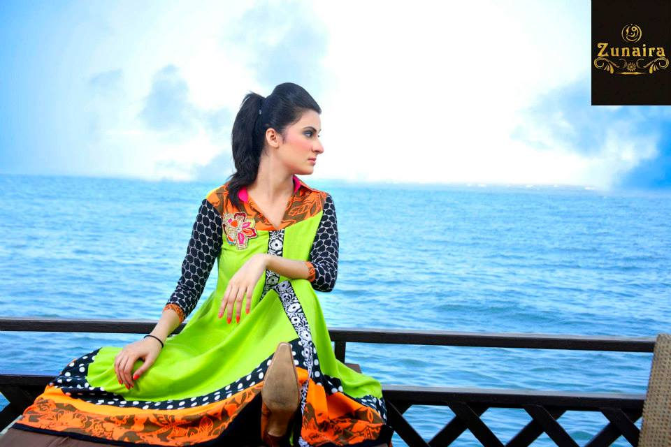 Zunaira Lounge Collection Summer 2013 For Women 001