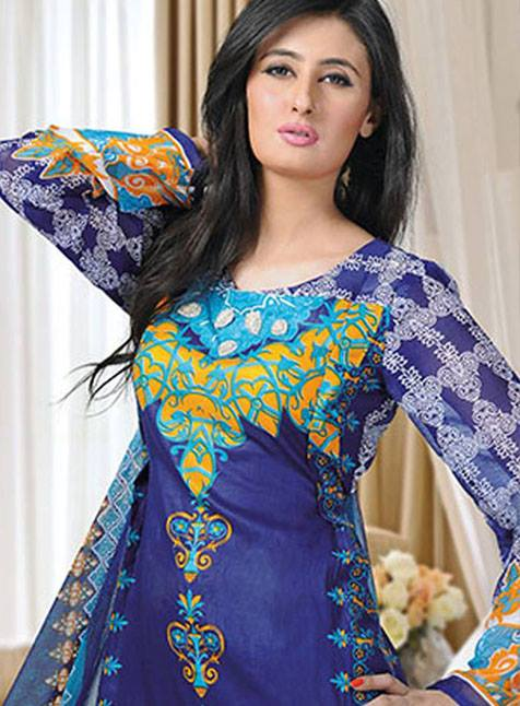Aalishan Chiffon Latest Dresses Lawn 2013 by Dawood Textiles 002