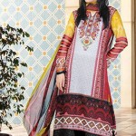 Aalishan Chiffon Latest Dresses Lawn 2013 by Dawood Textiles 003